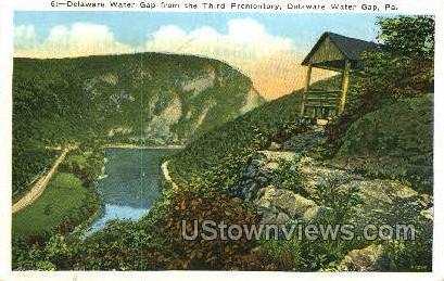 pa_qq_4052 - Delaware Water Gap, Pennsylvania PA Postcard