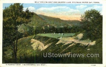 pa_qq_4055 - Delaware Water Gap, Pennsylvania PA Postcard