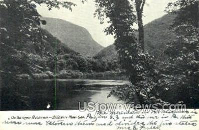 pa_qq_4060 - Delaware Water Gap, Pennsylvania PA Postcard