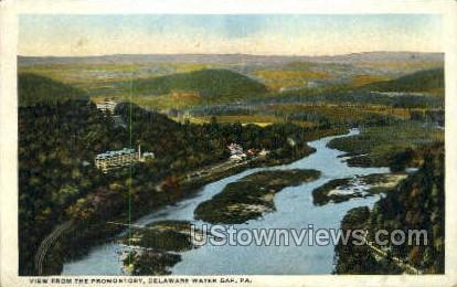 pa_qq_4061 - Delaware Water Gap, Pennsylvania PA Postcard