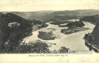 pa_qq_4066 - Delaware Water Gap, Pennsylvania PA Postcard
