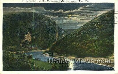 pa_qq_4068 - Delaware Water Gap, Pennsylvania PA Postcard