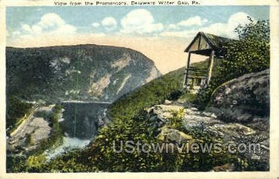 pa_qq_4069 - Delaware Water Gap, Pennsylvania PA Postcard