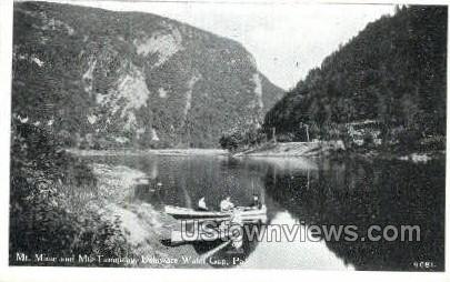 pa_qq_4072 - Delaware Water Gap, Pennsylvania PA Postcard
