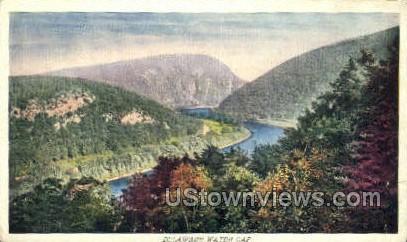 pa_qq_4073 - Delaware Water Gap, Pennsylvania PA Postcard