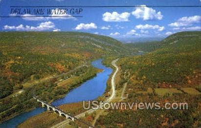 pa_qq_4076 - Delaware Water Gap, Pennsylvania PA Postcard