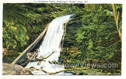 pa_qq_4077 - Delaware Water Gap, Pennsylvania PA Postcard