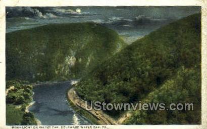 pa_qq_4078 - Delaware Water Gap, Pennsylvania PA Postcard