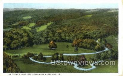 pa_qq_4079 - Delaware Water Gap, Pennsylvania PA Postcard