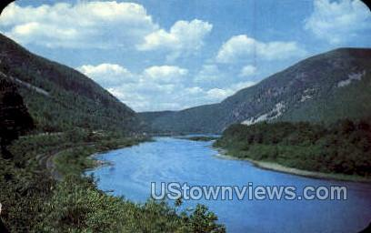 pa_qq_4082 - Delaware Water Gap, Pennsylvania PA Postcard