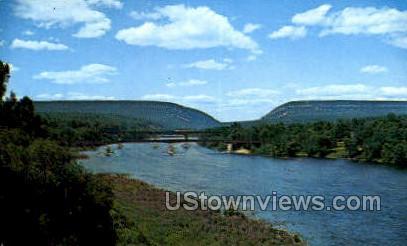 pa_qq_4086 - Delaware Water Gap, Pennsylvania PA Postcard