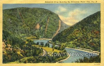 pa_qq_4089 - Delaware Water Gap, Pennsylvania PA Postcard