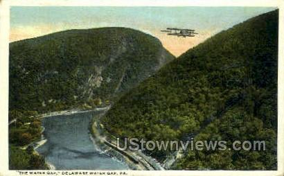 pa_qq_4090 - Delaware Water Gap, Pennsylvania PA Postcard