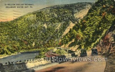 pa_qq_4091 - Delaware Water Gap, Pennsylvania PA Postcard