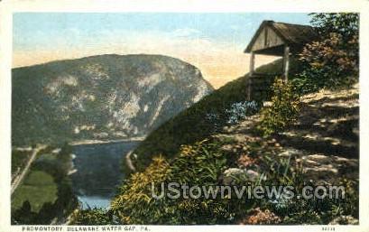 pa_qq_4092 - Delaware Water Gap, Pennsylvania PA Postcard