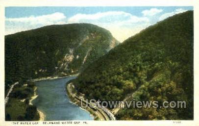 pa_qq_4093 - Delaware Water Gap, Pennsylvania PA Postcard