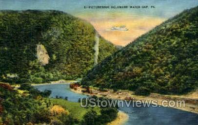 pa_qq_4095 - Delaware Water Gap, Pennsylvania PA Postcard