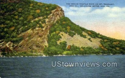 pa_qq_4097 - Delaware Water Gap, Pennsylvania PA Postcard