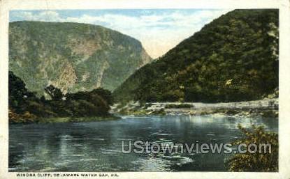 pa_qq_4098 - Delaware Water Gap, Pennsylvania PA Postcard