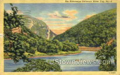 pa_qq_4099 - Delaware Water Gap, Pennsylvania PA Postcard