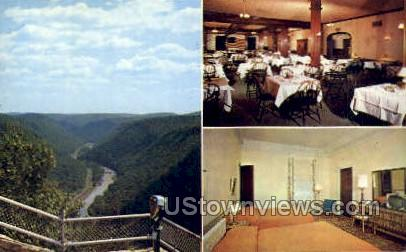 The Penn Wells Hotel - Wellsboro, Pennsylvania PA Postcard