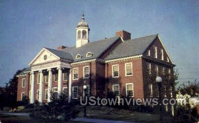 Jesse W Lazear chemistry hall - Washington, Pennsylvania PA Postcard