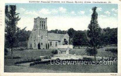 Buchmiller Memorial - Elizabethtown, Pennsylvania PA Postcard