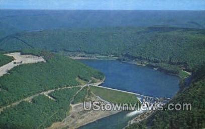 Kinzua dam  - Bradford, Pennsylvania PA Postcard