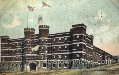 13th regiment armory - Scranton, Pennsylvania PA Postcard