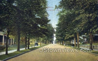 Jefferson avenue - Scranton, Pennsylvania PA Postcard