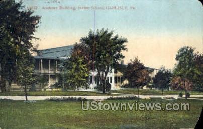 Academy building  - Carlisle, Pennsylvania PA Postcard