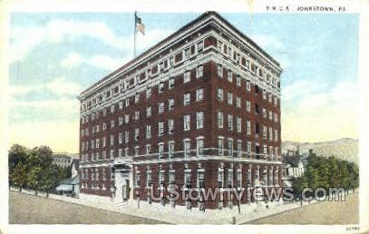 YMCA building  - Johnstown, Pennsylvania PA Postcard