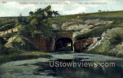 Oldest tunnel in the US  - Lebanon, Pennsylvania PA Postcard