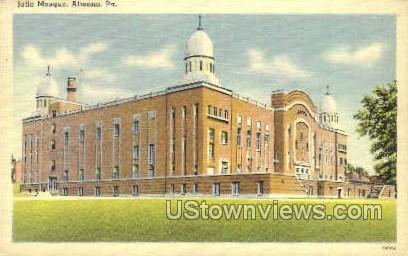 Jafia Mosque - Altoona, Pennsylvania PA Postcard