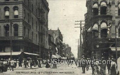 8th Street Market  - Philadelphia, Pennsylvania PA Postcard