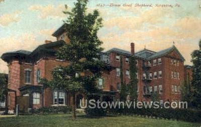 House god shepherd  - Scranton, Pennsylvania PA Postcard