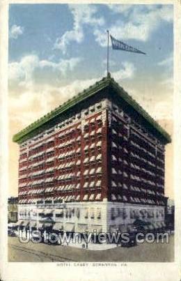 Hotel Casey  - Scranton, Pennsylvania PA Postcard