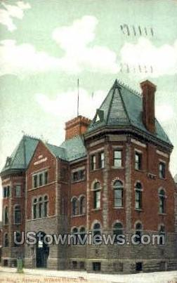 9th regiment armory  - Wilkes-Barre, Pennsylvania PA Postcard