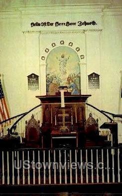 The North Heidelberg Church - Berks County, Pennsylvania PA Postcard