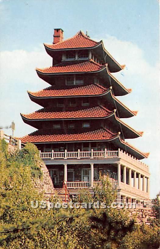 The Pagoda - Reading, Pennsylvania PA Postcard