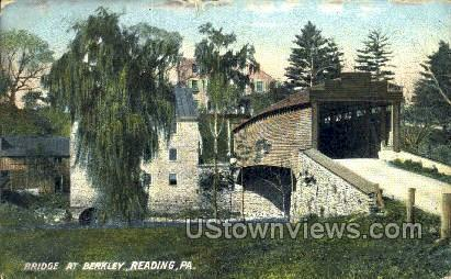 Bridge at Berkley - Reading, Pennsylvania PA Postcard