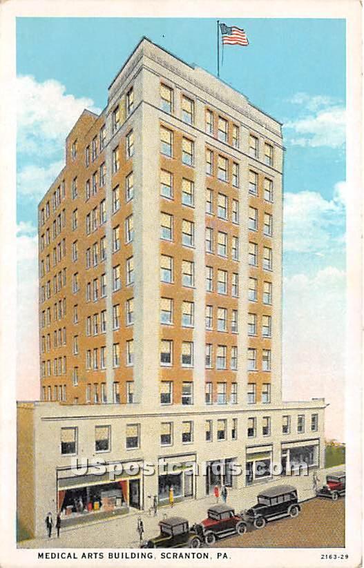 Medical Arts Building - Scranton, Pennsylvania PA Postcard