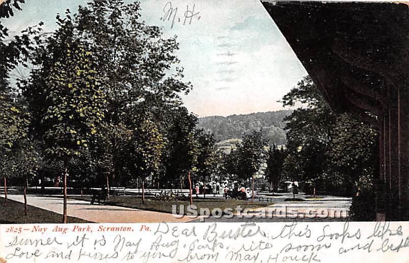 Nay Aug Park - Scranton, Pennsylvania PA Postcard