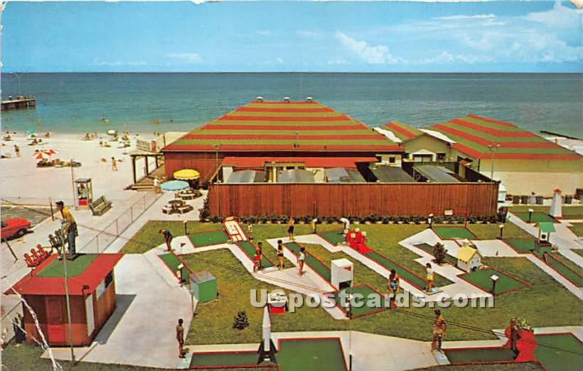 Lomma Championship Miniature Golf Courses - Scranton, Pennsylvania PA Postcard