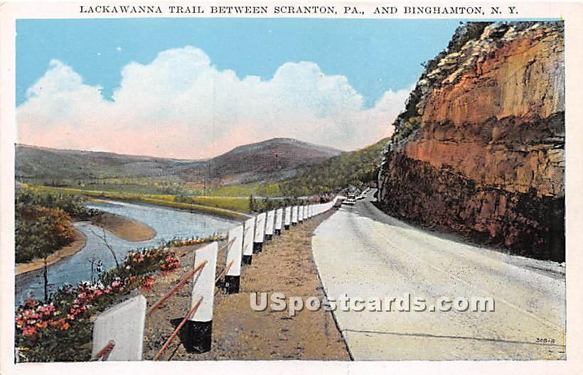 Lackawanna Trail - Scranton, Pennsylvania PA Postcard