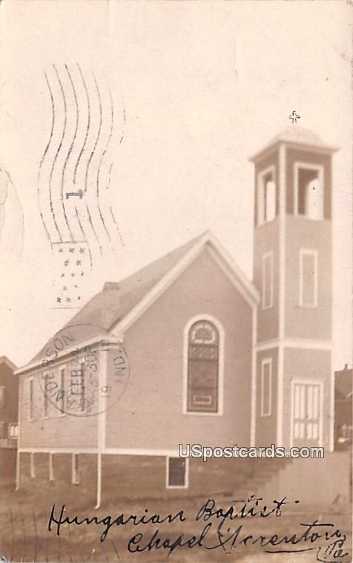 Hungarian Baptist Church - Scranton, Pennsylvania PA Postcard