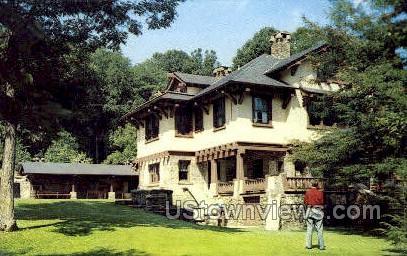 Indian Steps Museum - Susquehanna, Pennsylvania PA Postcard
