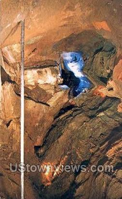 Indian Caverns - Spruce Creek, Pennsylvania PA Postcard