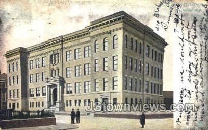 Scranton Tech. High School - Pennsylvania PA Postcard