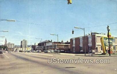 Mulberry Street - Scranton, Pennsylvania PA Postcard